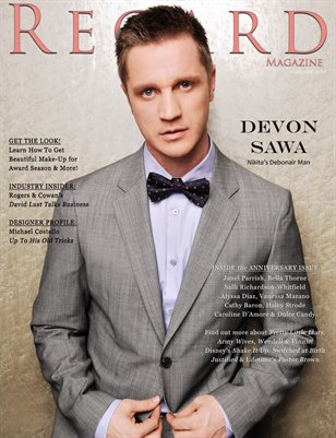Regard Magazine February/March 2013 Issue 18 Cover 2