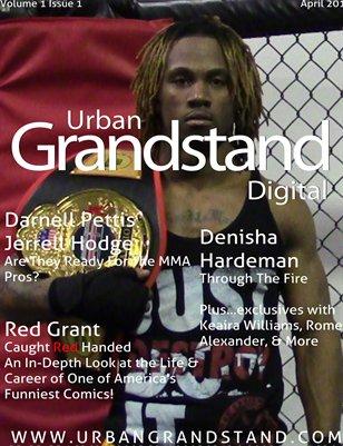 Urban Grandstand Digital, April 2014, DP Cover