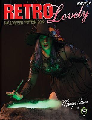 Retro Lovely Halloween 2019 Volume No.6 – Maevyn Corvus Cover