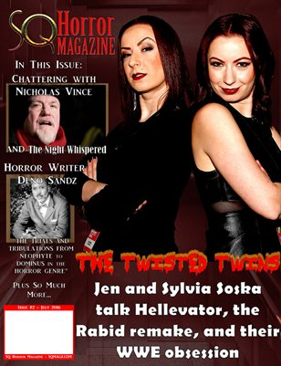 SQ Horror Magazine #2 July 2016