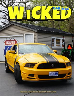 WICKED CAR MAG - JUNE - BOSS 302
