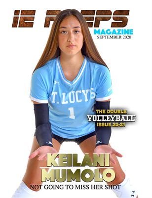 2020 Girls Volleyball Double Issue Keilani Mumolo Cover