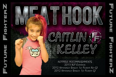 Caitlin MEAT HOOK Kelley Poster