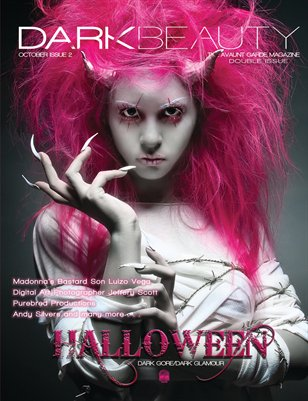 Dark Beauty Magazine - ISSUE 2 - Halloween '10