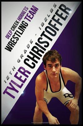 Tyler Christoffer DC #1 Poster