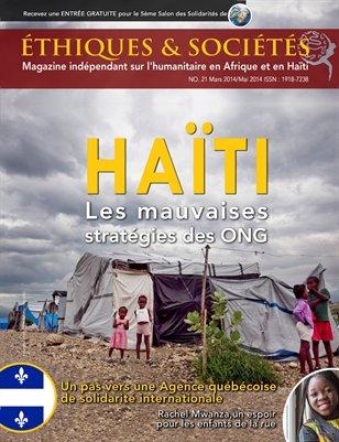 Magazine Éthiques et Sociétés (Mars/Mai 2014- 21)
