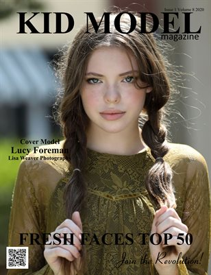 Kid Model magazine Issue 1 Volume 8 2020