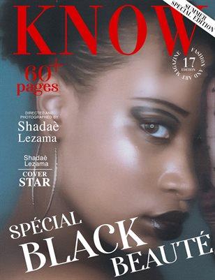 KNOW Magazine Spécial Black Beauté June 2021_Shadaé