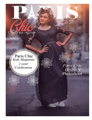 Paris Chic kids magazine March 8