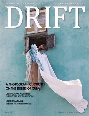 DRIFT Travel Magazine Holiday 2020 Issue