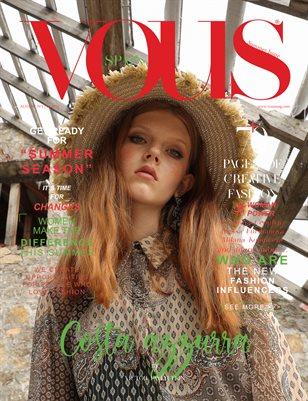 VOUS Magazine | The August Fashion & Beauty Edition | Vol.1 | 2021