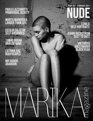 MARIKA MAGAZINE NUDE (ISSUE 597 - February)
