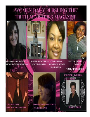 WOMEN DAILY PURSUING THE TRUTH MINISTRIES MAGAZINE