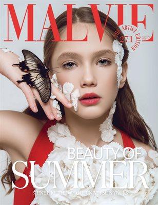 MALVIE Magazine The Artist Edition Vol 271 August 2021