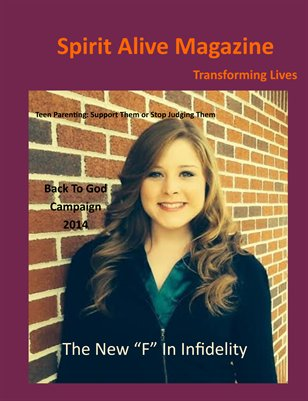 Spirit Alive Magazine- May 2014