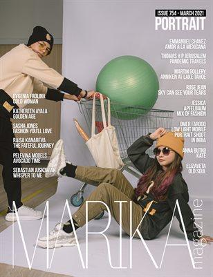 MARIKA MAGAZINE PORTRAIT (ISSUE 754 - MARCH)