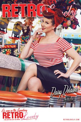 Retro Lovely No.59 – Daisy Delaine Cover Poster