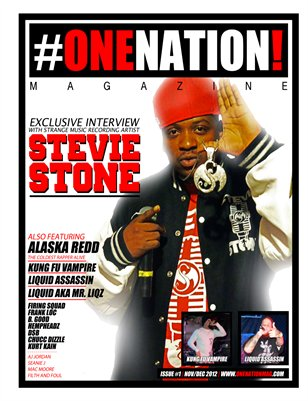 #OneNation! Magazine - Issue #1 Nov/Dec 2012