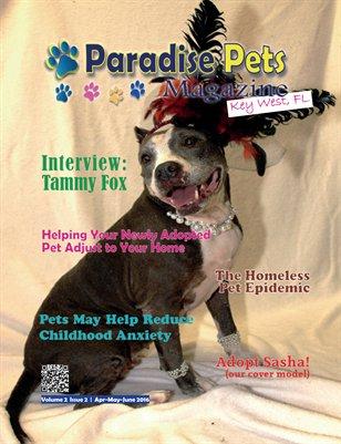 Paradise Pets Magazine, Key West, FL Vol. 2 Issue 2