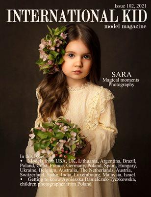 International Kid Model Magazine Issue #102