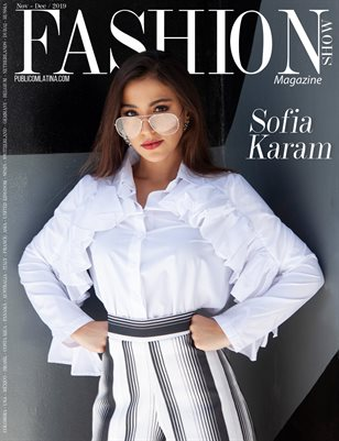 FASHIONSHOW Mag - Nov/Dec 2019 - Sofia Karam - Issue #9