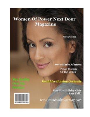 January  2015 Women Of Power Next Door Magazine