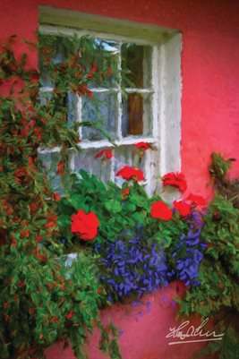 """Irish Cottage at Bunratty"" (POSTER)"
