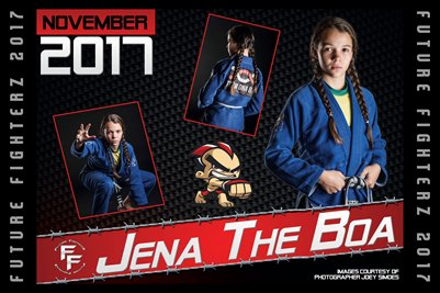 Jena The Boa Cal Poster 2017
