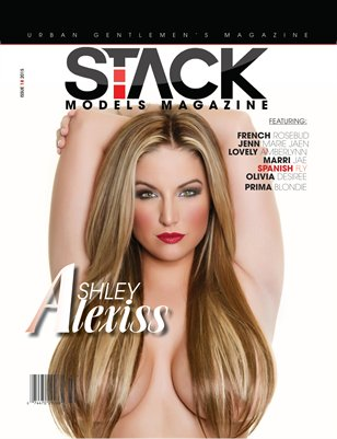 Stack Models Magazine Issue 18 Ashley Alexiss Cover