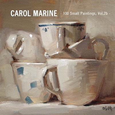 CAROL MARINE - 100 small paintings, vol.2b -