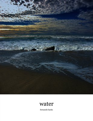 water from rivers, seas, oceans...