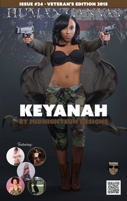 Issue #24 - Keyanah Cover