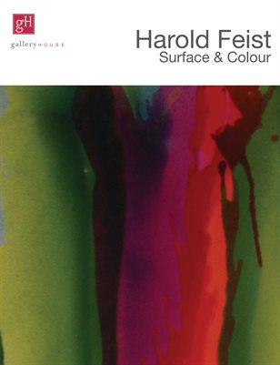 Harold Feist - Surface & Colour