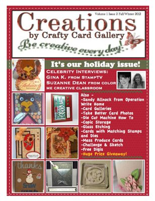 Creations by Crafty Card Gallery Issue 2