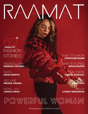 RAAMAT Magazine April 2021 COLORS Special Edition Issue 3