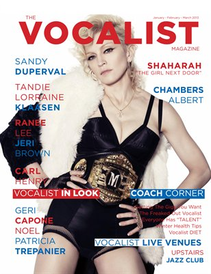 The Vocalist Magazine - (Winter 2013 ISSUE)
