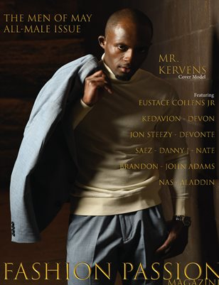 Fashion Passion Magazine - Men of May