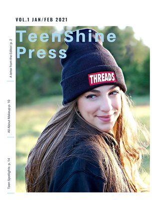 TeenShine Press Vol 1 Jan/Feb 2021