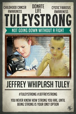 Jeffrey Tuley Donate Life - Poster
