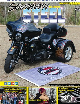 Southern Steel Motorcycle & Car Magazine March 2015