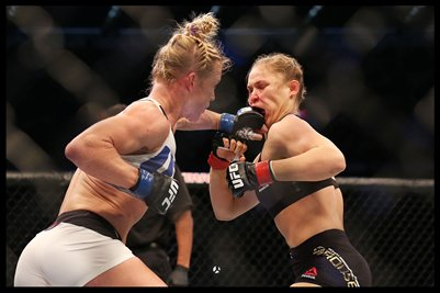 Holm/Rousey 12x18 Poster