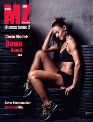 Model Zed Magazine Fitness Issue 2 2017