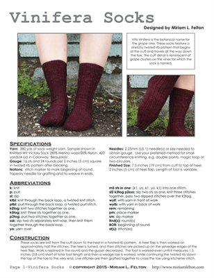 Vinifera Socks