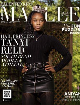 Maelle Kids Magazine Black Edition  | Ta'Nyi Reed