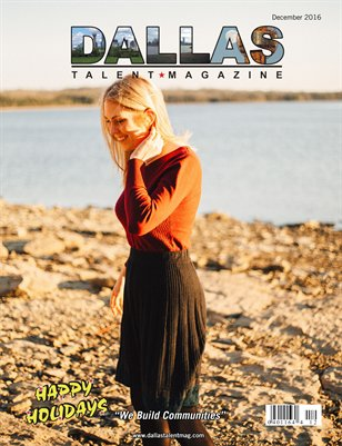 Dallas Talent Magazine December 2016 Edition