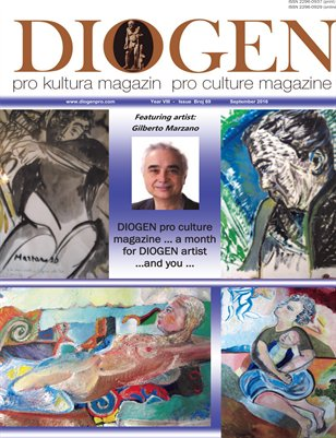 DIOGEN pro art magazine....September 2016_ No 69