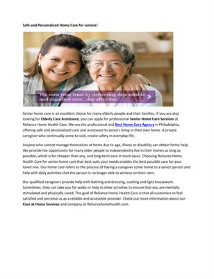 Caregivers Home Health