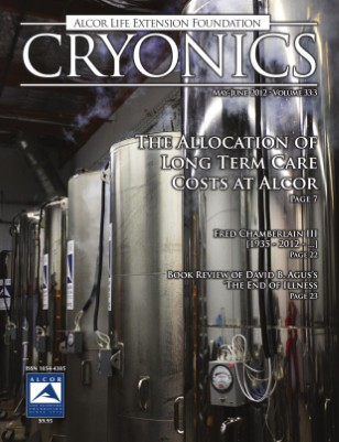 Cryonics May-June 2012 Volume 33:3