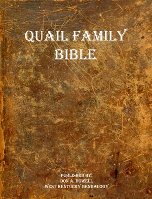 QUAIL FAMILY BIBLE
