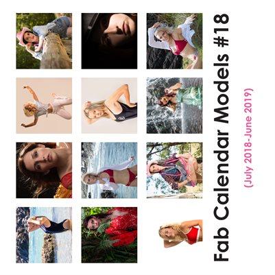 Fab Calendar Models 18